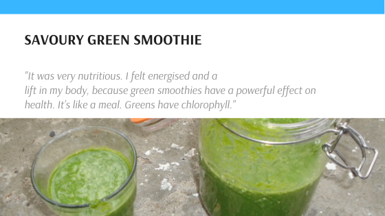Savoury Green Smoothie